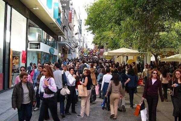 Покупки в Салониках