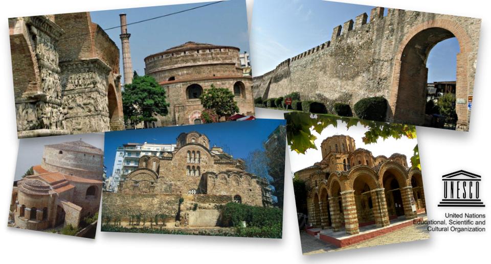 Monuments of UNESCO, Thessaloniki